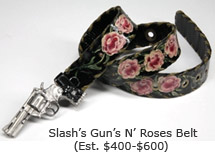 Slash's Guns 'n Roses Belt