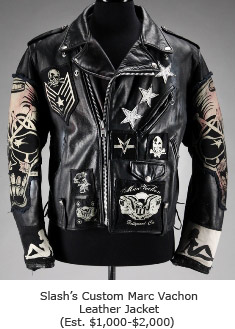 Slash's Custom Marc Vachon Leather Jacket