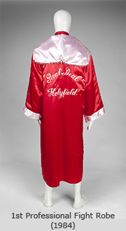 1st Professional Fight Robe - 1984