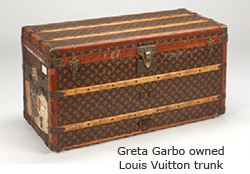 Greta Garbo owned Louis Vitton trunk