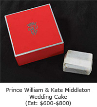 Prince William & Kate Middleton Wedding Cake