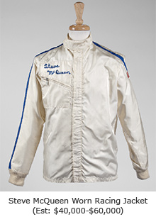 Steve McQueen Worn Racing Jacket