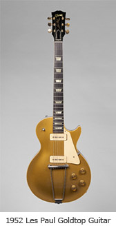 Les Paul Goldtop Guitar