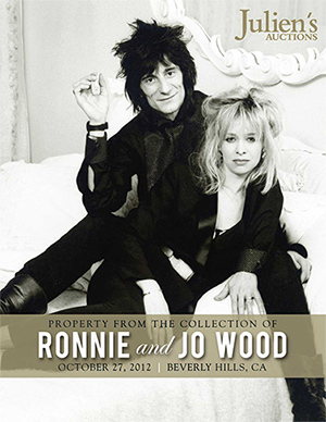 Property from the Collection of Ronnie and Jo Wood