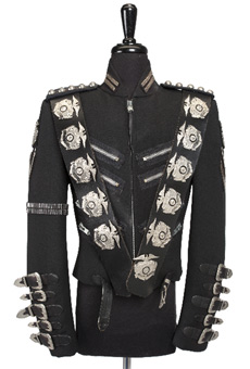 "Michael Jackson ""Bad"" Leather Jacket"