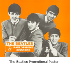 The Beatles Promotional Poster