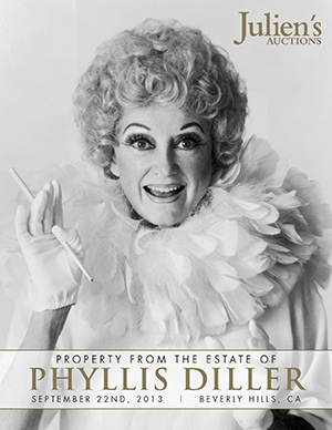 Phyllis Diller Auction Catalog