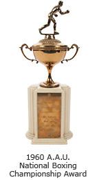 1960 A.A.U. National Boxing Championship Award