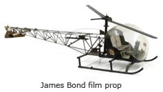 James Bond film prop