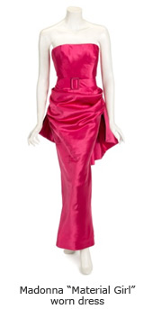 "Madonna ""Material Girl"" worn dress"