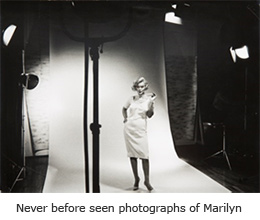 Never before seen photographs of Marilyn