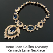 Joan Collins Dynasty Kenneth Lane necklace