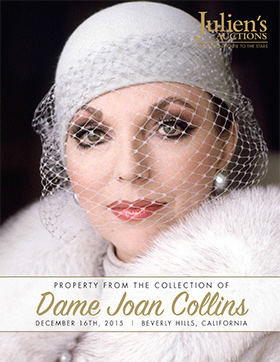 Dame Joan Collins Auction Catalog