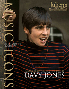Davy Jones Auction Catalog