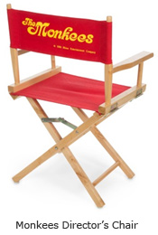 Monkees Director's Chair