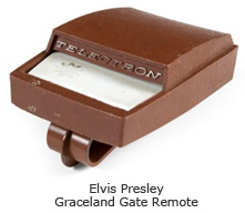 Elvis Presley Graceland Gate Remote