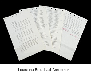 Louisiana Broadcast Agreement