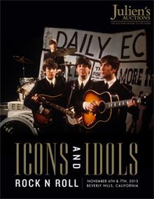 Icons and Idols: Rock Auction Catalog