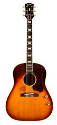 John Lennon's original 1962 J-160E Gibson Acoustic guitar