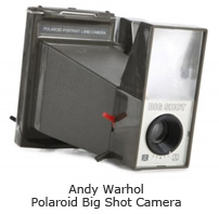 Andy Warhol Polaroid Big Shot Camera