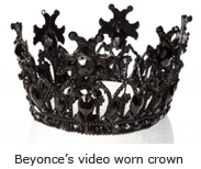 Beyonce's video worn crown