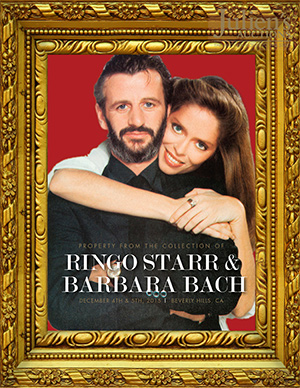 Ringo Starr/Barbara Bach auction catalog