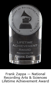 National Recording Arts & Sciences Lifetime Achievement Award