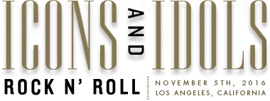 Icons and Idols: Rock n' Roll Auction
