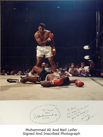 Muhammad Ali Right Photo