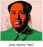 """Andy Warhol """"Mao"""""""