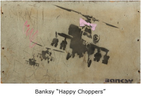 "Bansky ""Happy Chopper"""
