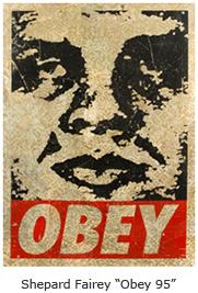 """Shepard Fairey """"Obey 95"""""""