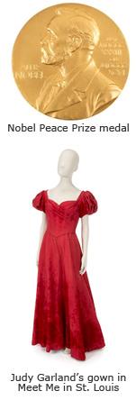 Nobel Peace Prize / Judy Garland Dress