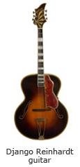 Django Reinhardt guitar