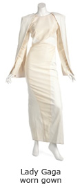 Lady Gaga worn gown