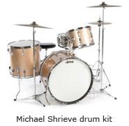 Michael Shrieve drum kit