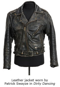 Leather jacket worn by Patrick Swayze in Dirty Dancing