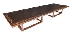 Donald Trump's boardroom table