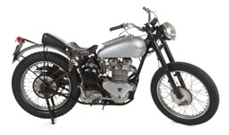 Henry Winkler's 1949 Triumph Trophy TR500 motorcycle