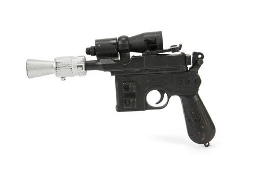 Han Solo Blaster used in Star Wars