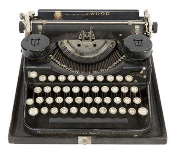 Hugh Hefner's College Typewriter