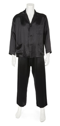 Hugh Hefner's Silk Pajamas