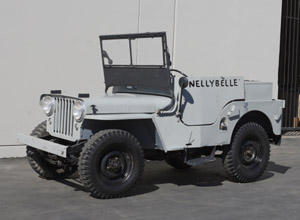 Roy Rogers 1946 Jeep