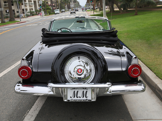 Marilyn Monroe's Black Ford Thunderbird