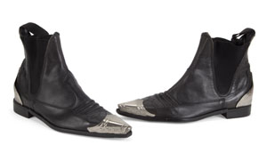 George Michael's Metal Toed Booties