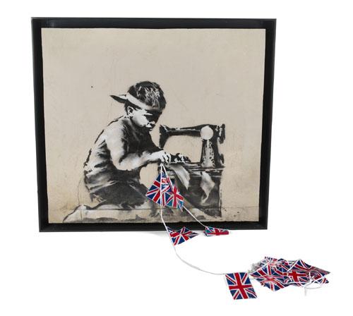 Slave Labour  by Banksy