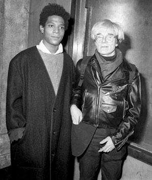 Basquiat Coat With Warhol