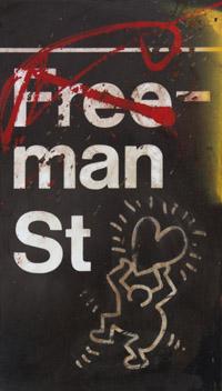 Freeman Street Subway Sign