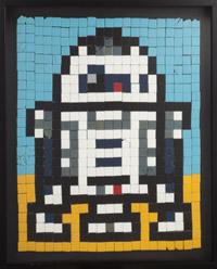 R2D2 Ceramic Tile Mosaic